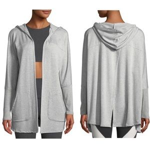 Beyond Yoga Love and Fleece Open-Front Cardigan